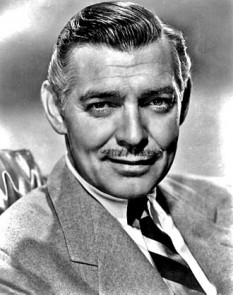 William Clark Gable (n. 1 februarie 1901 - d. 16 noiembrie 1960), unul din marii actori americani de film, cunoscut si ca The King of Hollywood (Regele Hollywood-ului) sau simplu The King (Regele) -  foto (poză publicitară circa 1940): ro.wikipedia.org