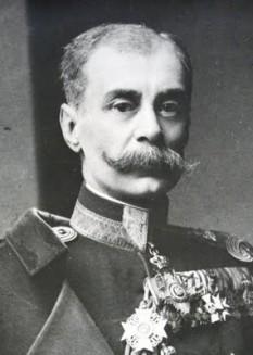 Constantin Coandă (n. 4 martie 1857, Craiova – d. 30 septembrie 1932, București), general român, fost profesor de matematici la Școala națională de poduri și șosele din București și pentru o scurtă perioadă (24 octombrie - 29 noiembrie 1918) președinte al consiliului de miniștri și ministru de externe al României. Printre cei 7 copii ai săi (5 băieți și 2 fete) s-a numărat și celebrul Henri Coandă - foto: ro.wikipedia.org