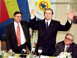 Corneliu Vadim Tudor (n. 28 noiembrie 1949, București – d. 14 septembrie 2015, București), scriitor, politician și publicist român, care a deținut funcțiile de senator și europarlamentar - foto: stirileprotv.ro