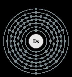 Darmstadtiul (simbol Ds), cunoscut anterior sub numele de ununnilium, este un element chimic cu numărul atomic 110, descoperit de Societatea pentru Cercetarea Ionilor Grei în 1994 (elementul e numit după orașul în care își are sediul această societate). E unul dintre așa-numiții atomi super-grei. Acest element sintetic decade repede: izotopii săi de masă 267 până la 273 au timpi de înjumătățire care se măsoară în microsecunde. Izotopi mai grei ai darmstadtiului, de masă 279 și 281, au fost ulterior sintetizați și sunt mai stabili, cu timpi de înjumătățire de 0,18 secunde și 11,1 secunde respectiv - foto: ro.wikipedia.org