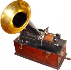 Fonograf Edison - foto: ro.wikipedia.org