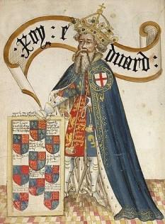 Eduard al III-lea (13 noiembrie 1312 - 21 iunie 1377), unul dintre cei mai de succes monarhi ai Angliei din Evul Mediu. El a transformat Regatul Angliei într-o putere militară a Europei. A domnit pe tronul Angliei timp de 50 de ani; de la Henric al III-lea până la George al III-lea nici un alt monarh englez n-a avut o domnie atât de lungă foto: ro.wikipedia.org