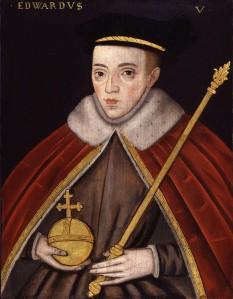 """Eduard al V-lea (4 noiembrie 1470 - 1483?), a fost rege al Angliei de la 9 aprilie 1483, până la detronarea sa două luni mai târziu - foto (Portret de la sfârșitul secolului al XVI-lea al regelui Eduard al V-lea de un artist necunoscut. """"National Portrait Gallery"""", Londra): ro.wikipedia.org"""