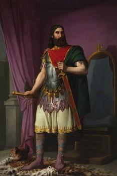 Egica, Ergica sau Egicca (c. 610 – 702/703), regele vizigot al Hispaniei și Septimaniei din 687 până la moartea sa - foto: ro.wikipedia.org