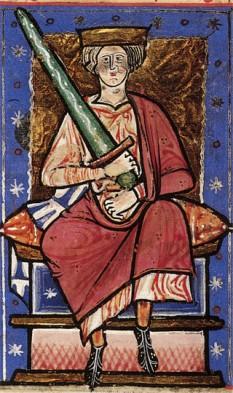 Ethelred II cel Șovăielnic(968 - 1016) s-a născut în anul 968 d.H. A fost regele Angliei între 978-1013 și 1014-1016 - foto: ro.wikipedia.org
