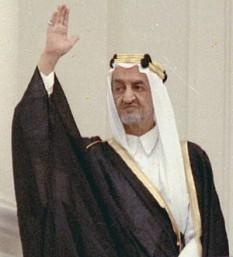 Faisal bin Abdulaziz Al Saud (n. aprilie 1906 - d. 25 martie 1975), regele Arabiei Saudite. A fost fiul regelui Ibn Saud. A mai deținut și funcțiile de guvernator al provinciei Hidjaz (începând cu 1926) și de ministru de externe (din 1930). foto: ro.wikipedia.org