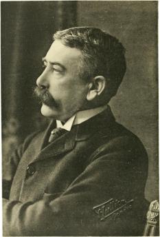 Ferdinand de Saussure (n. 26 noiembrie 1857, Geneva, Elveția, d. 22 februarie 1913 la castelul Vufflens, Morges, cantonul Vaud, Elveția), lingvist elvețian. Este considerat părintele lingvisticii moderne - foto: ro.wikipedia.org