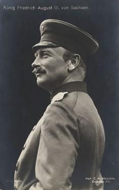 Frederic August al III-lea, (n. 25 mai 1865, Dresda – d. 18 februarie 1932), ultimul rege al Saxoniei (1904–1918) și membru al Casei de Wettin - foto: ro.wikipedia.org