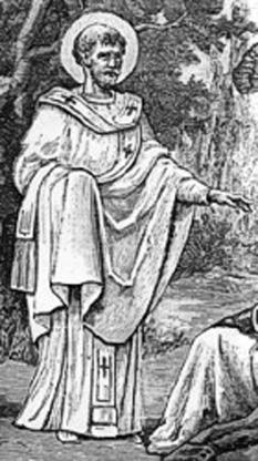 Sfântul Frumentie sau Frumentius a fost primul episcop de Axum, iar apoi sfânt. El mai este cunoscut și sub numele de Apostolul Abisiniei sau al Etiopiei. Pomenirea sa de catre Biserica Ortodoxa se face la data de 30 noiembrie - foto (Frumentie botezându-i pe etiopieni): ro.wikipedia.org
