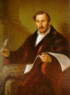 Domenico Gaetano Maria Donizetti (n. 29 noiembrie 1797, Bergamo, Italia – d. 8 aprilie 1848), compozitor italian de muzică cultă și, mai ales, de operă din Bergamo, regiunea Lombardia - foto: ro.wikipedia.org