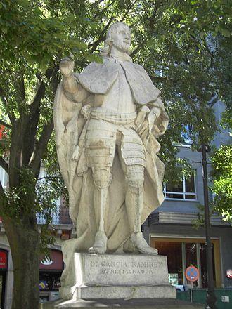 Garcia Ramirez (decedat pe 21 noiembrie 1150) numit și Restauratorul, a fost Lord de Monzon și Logrono și din 1134, rege al Navarei. El a restaurat independența coroanei navareze după 58 de ani de unire cu Regatul Aragonului - foto: ro.wikipedia.org