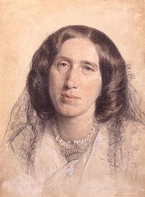 Mary Anne (Mary Ann, Marian) mai bine cunoscută sub pseudonimul George Eliot (n. 22 noiembrie 1819, Nuneaton/Warwickshire - d. 22 decembrie 1880, Londra), romancieră din Anglia - foto: ro.wikipedia.org