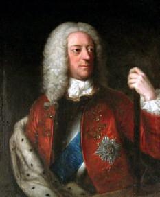 George al II-lea (George Augustus; 10 noiembrie 1683 - 25 octombrie 1760), rege al Marii Britanii și Irlandei, Duce de Braunschweig-Lüneburg (Hanovra) și Prinț Elector al Sfântului Imperiu Roman de la 11 iunie 1727, până la moartea sa - foto: ro.wikipedia.org