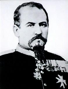 Gheorghe Slăniceanu (n. 23 aprilie 1835, București; d. 12 ianuarie 1885, San Remo, Italia), general român care a participat la activități militare și politice foto: ro.wikipedia.org
