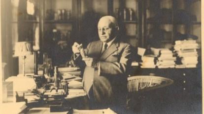 Grigore Antipa (n. 27 noiembrie 1867, Botoșani - d. 9 martie 1944, București), naturalist, biolog darwinist, zoolog, ihtiolog, ecolog, oceanolog și profesor universitar român - foto: cersipamantromanesc.wordpress.com