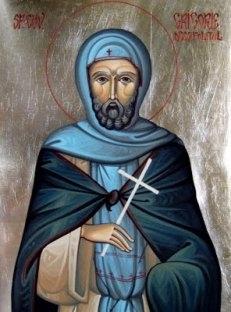 Sfântul Cuvios Grigorie Decapolitul s-a născut la sfârșitul secolului VIII, în jurul anului 790.  A murit într-o mănăstire din Constantinopol, în ziua de 20 noiembrie 842. Pomenirea sa de catre Biserica Ortodoxa se face la data de 20 noiembrie - foto: basilica.ro