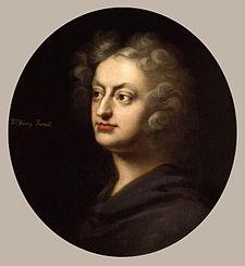Henry Purcell (n. cca. 1659, Westminster - d. 22 noiembrie 1695, Londra) compozitor englez (cu un strămoș din familia suide) de muzică barocă - foto: ro.wikipedia.org