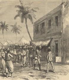 1871: Doctor Livingstone, I presume? - întâlnire între ziaristul Henry Stanley și exploratorul David Livingstone - foto: ro.wikipedia.org