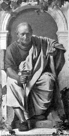 """Quintus Horatius Flaccus, în limba română Horațiu, (n. 8 decembrie 65 î.Hr., Venosa; d. 27 noiembrie 8 î.Hr., Roma), unul din cei mai importanți poeți romani din """"perioada de aur"""" a literaturii romane (""""Secolul lui Augustus"""") sau """"epoca augustană"""", cuprinsă între 43 î.Hr. (moartea lui Cicero) și 14 d. Hr. (moartea împăratului Augustus) - foto: ro.wikipedia.org"""