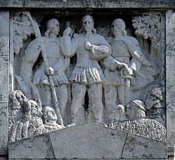 Horea, Cloșca și Crișan Basorelief pe Obeliscul lui Horea, Cloșca și Crișan din Alba Iulia foto: ro.wikipedia.org