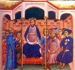 Iacob al II-lea (10 aprilie 1267 – 2 sau 5 noiembrie 1327), supranumit cel Drept, (aragoneză Chaime lo Chusto, catalană Jaume el Just, spaniolă Jaime el Justo), rege al Siciliei (ca Iacob I) din 1285 până în 1296 și rege de Aragon și al Valenciei și Conte de Barcelona din 1291 până în 1327. În 1297 i-a fost garantat regatul Siciliei și al Corsicii. A folosit titlul latin Iacobus Dei gracia rex Aragonum, Valencie, Sardinie, et Corsice ac comes Barchinone. A fost al doilea fiu al lui Petru al III-lea de Aragon și Constance de Sicilia foto: ro.wikipedia.org