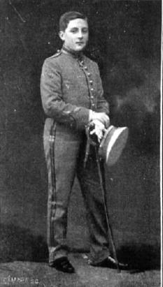 Infantele Alfonso al Spaniei, Prinț al celor Două Sicilii, Duce de Calabria (30 noiembrie 1901, Madrid – 3 februarie 1964, Madrid), unul din cei doi pretendenți la șefia Casei de Bourbon-Două Sicilii din 1960 până la moartea sa în 1964  foto (Ducele de Calabria în 1912): ro.wikipedia.org