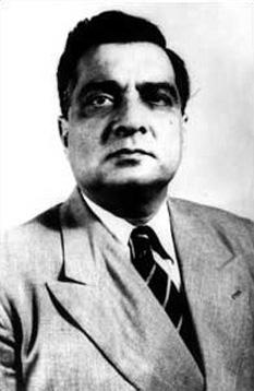 Major General Sahibzada Sayyid Iskander Ali Mirza; (November 13, 1899 – November 13, 1969), was the first President of Pakistan, serving from 1956 to 1958 - foto: en.wikipedia.org