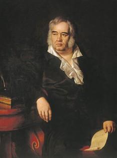 Ivan Andreevici Krîlov (n. 13 februarie 1769, Moscova — d. 21 noiembrie 1844, Sankt Petersburg), cel mai cunoscut fabulist rus - foto: ro.wikipedia.org