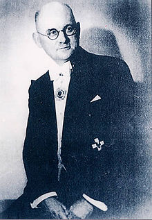 John Heinrich Detlev Rabe (November 23, 1882 – January 5, 1950) was a German businessman who is best known for his efforts to stop the atrocities of the Japanese army during the Nanking Occupation and his work to protect and help the Chinese civilians during the event - foto: en.wikipedia.org