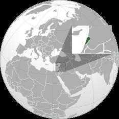 Amplasarea Libanului - foto: ro.wikipedia.org