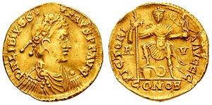 Flavius Libius Severus Serpentius (n. cca. 420, Lucania – d. 15 august 465) a fost un împărat al Imperiului Roman de Apus din 19 noiembrie 461 până la moartea sa - foto: ro.wikipedia.org