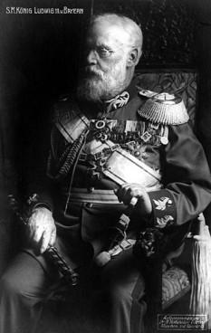 Ludovic al III-lea al Bavariei (Ludwig Luitpold Josef Maria Aloys Alfried; 7 ianuarie 1845 – 18 octombrie 1921) ultimul rege al Bavariei și a domnit în perioada 1913-1918 - foto: ro.wikipedia.org