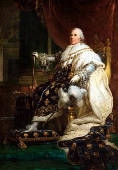 Ludovic al XVIII-lea (17 noiembrie 1755 - 16 septembrie 1824), regele Franței și al Navarei în 1814 și apoi în perioada 1815 - 1824 - foto: ro.wikipedia.org