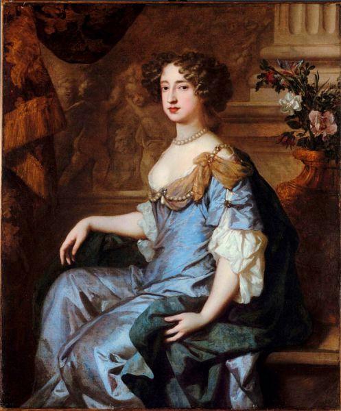 Maria a II-a a Angliei (30 aprilie 1662 – 28 decembrie 1694) a domnit ca regină a Angliei și a Irlandei din 13 februarie 1689 și ca regină a Scoției din 11 aprilie 1689 până la moartea sa - in imagine, Mary II of England - Portrait by Peter Lely, 1677 - foto: ro.wikipedia.org
