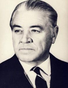 Ion Gheorghe Maurer (n. 23 septembrie 1902, București - d. 8 februarie 2000, București), prim-ministru al României în perioada 1961-1974 și președinte al Prezidiului Marii Adunări Naționale a Republicii Populare Romîne în perioada 11 ianuarie 1958 - 21 martie 1961 - foto: ro.wikipedia.org