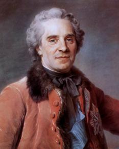 Maurice de Saxa (28 octombrie 1696 – 20 noiembrie 1750), nobil german în serviciul Franței care a ajuns mareșal al Franței - foto (Maurice de Saxa în 1748): ro.wikipedia.org