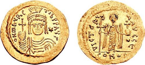 Flavius Mauricius Tiberius Augustus (c.539, Arabissus - 602, Constantinopol), cunoscut sub numele de Mauriciu/Maurikios, a fost împărat bizantin între 582 şi 602. El a fost ultimul membru al dinastiei iustiniene - foto: ro.wikipedia.org