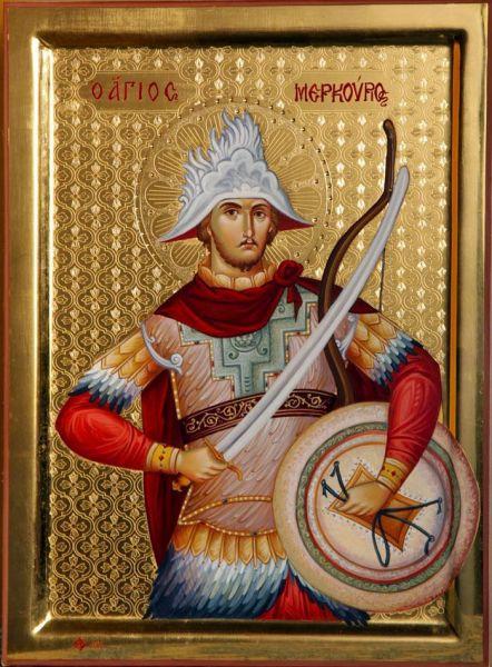 Sfântul Mare Mucenic Mercurie. Prăznuirea sa în Biserica Ortodoxă se face la 25 noiembrie - foto: doxologia.ro