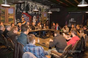 Prima reuniune Mişcarea Uniţi Realizăm - MUR (15 noiembrie 2015) - foto: Radu Gabriel Cristian
