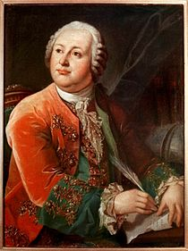 Mihail Vasilievici Lomonosov (n. 19 noiembrie 1711, la Denisovka - d. 15 aprilie 1765, la Sankt Petersburg), savant, poet și filolog rus - foto: ro.wikipedia.org