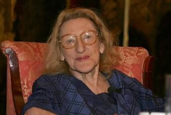 Nina Cassian (nume la naștere Renée Annie Cassian, n. 27 noiembrie 1924, Galați - d. 15 aprilie 2014, New York), poetă, eseistă și traducătoare română, de origine evreiască - foto: cersipamantromanesc.wordpress.com