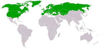 Hartă a membrilor OSCE (2005) - foto: ro.wikipedia.org