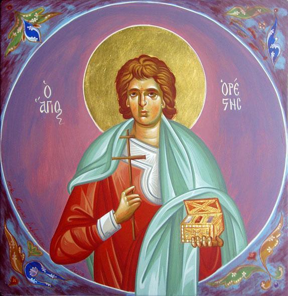 Sfântul Mucenic Orest.  Prăznuirea sa de către Biserica Ortodoxă se face la data de 10 noiembrie - foto: doxologia.ro