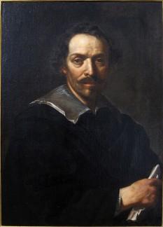 Pietro da Cortona (numele civil: Pietro Berrettini) (n. 1 noiembrie 1596 în Cortona; d. 16 mai 1669 în Roma), însemnat arhitect și pictor al barocului. foto (Self-Portrait): en.wikipedia.org