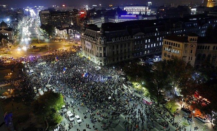 Protest Bucuresti 5 noiembrie 2015 foto: Dan Mihai Balanescu