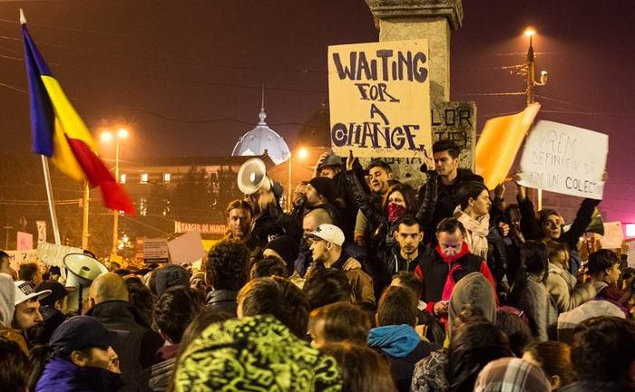 Protest Bucuresti 5 noiembrie 2015 foto: Sergiu Nicolae Brega