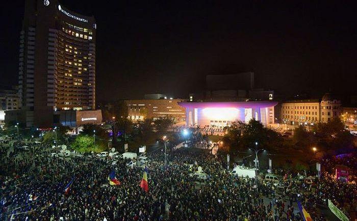 Protest Bucuresti 5 noiembrie 2015 foto: Alberto Groşescu