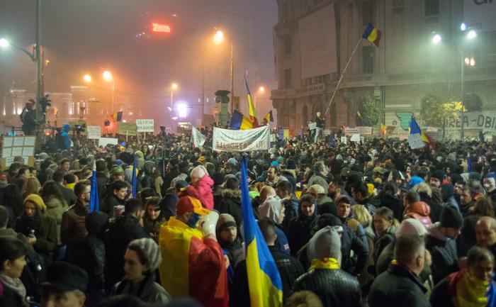 Proteste 6 noiembrie 2015, foto: Eugen Horoiu / Epoch Times România