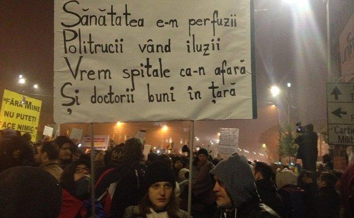 Proteste 6 noiembrie 2015, foto: Epoch Times România