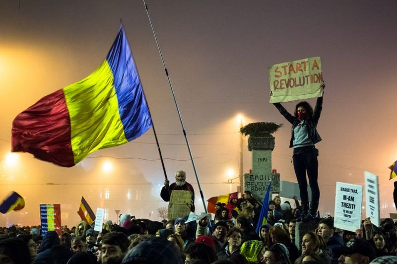 Proteste 6 noiembrie 2015, Bucuresti, Piata Universitatii - foto: Sergiu Nicolae Brega